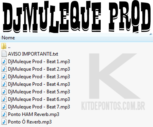 Novo Pack de Beats – DjMuleque Prod 2017