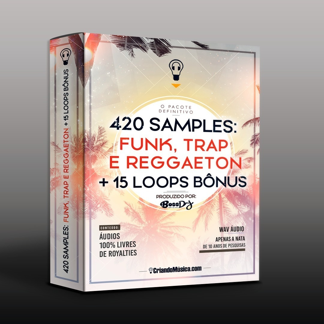 420 SAMPLES para FUNK, Trap & Reggaeton + 15 BÔNUS LOOPS