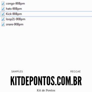 KITZINHO LOOP MAIS SAMPLES REGGAE 90Bpm  #1