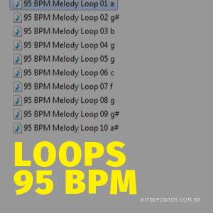 LOOPS 95 BPM PARA CRIAÇÃO DE PONTOS