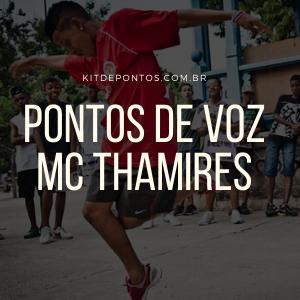 PONTOS DE VOZ – MC THAMIRES – OUSADIA