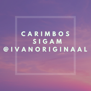 QUEREM CARIMBOS   SIGAM @IVANORIGINAAL