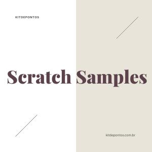 Scratch Samples