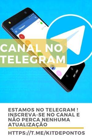 CANAL KITDEPONTOS TELEGRAM