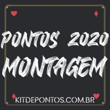 PACK DE PONTOS VARIADOS PARA MONTAGEM