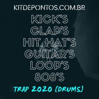 PACK PARA PRODUÇÃO DE TRAP 2020 [DRUMS] (KICK,CLAP,HAT,808…) 2GB