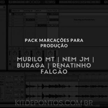 MARCAÇÕES PARA PRODUÇÃO #2 – MURILO MT | NEM JM | BURAGA | RENATINHO FALCÃO