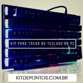 KIT DE PONTOS PARA TOCAR NO TECLADO DE PC
