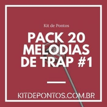 PACK 20 MELODIAS DE TRAP #1