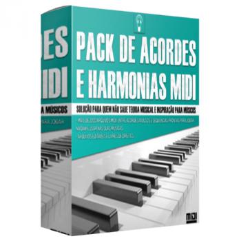 Pack Acordes e Harmonias MIDI