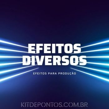PACK EFEITOS DIVERSOS – FOTO | BUZINA | TOQUE CELULAR | SIRENE | ISQUEIRO ETC . . . [PACK COM 38 EFEITOS]