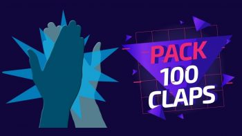 PACK 100 CLAP'S