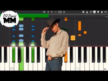 MC Jacaré – Senta no Fazendeiro ( Tutorial Aula Piano / Karaokê)