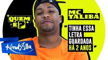 """Quem é MC Talibã? Dono da música – """"Um Sabadão Desse Uma Lua Dessa"""" (KondZilla)"""