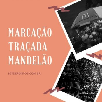 PACKZINHO 5 MARCAÇÕES TRAÇADAS MANDELÃO