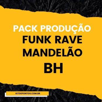 PACK PARA PRODUÇÃO DE BEATS – FUNK RAVE – MANDELÃO – BH