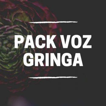 PACK VOZ GRINGA , MARCAÇÕES