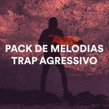 PACK DE MELODIAS DE TRAP AGRESSIVO EM ALTA QUALIDADE COM TOM E BPM