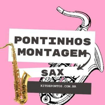 PACK PONTINHOS DE SAX PARA MONTAGEM