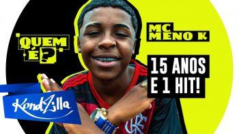 """Quem É MC Meno K – Do Hit """"Camisa do Flamengo"""" (KondZilla)"""