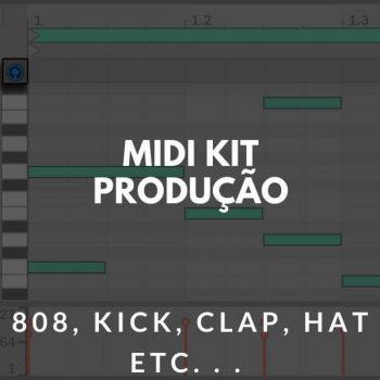 MIDI KIT – PRODUÇÃO TRAP – 808 | CLAP | KICK | HAT ETC. .