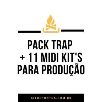 PACK TRAP + 11 MIDI KIT'S PARA PRODUÇÃO