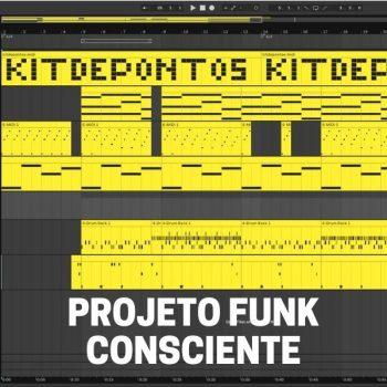 PROJETO PARA PRODUZIR BEAT FUNK CONSCIENTE – FÁCIL DE EDITAR TODO EM MIDI – ABLETON LIVE 10
