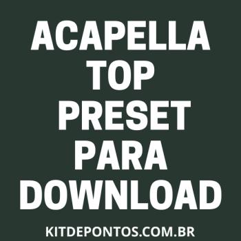 TUTORIAL MIX ACAPELLA + PRESET PARA VC FAZER EM 1 CLICK