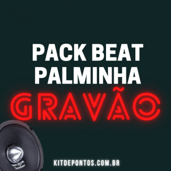 PACK BEAT PALMINHA GRAVÃO