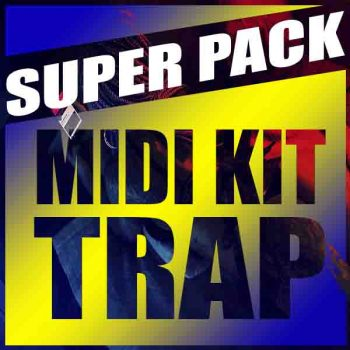 SUPER PACK MIDI KIT TRAP 289 MIDI'S PARA PRODUÇÃO 🔥