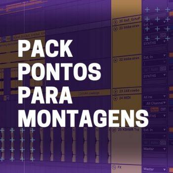PACK PONTOS PARA MONTAGENS
